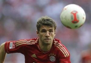 Бавария продлила контракт с Томасом Мюллером