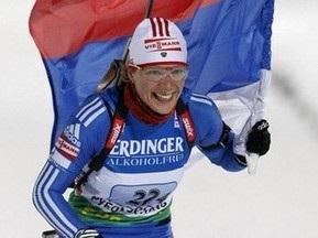Пхенчхан-2009: Ольга Зайцева перемагає в мас-старті, Віта Семеренко - 4-а