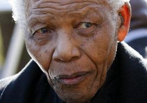 Нельсон Мандела одужує - онук