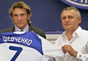 Суркис о продлении контракта Шевченко: Главное - это его желание, все остальное легко решим