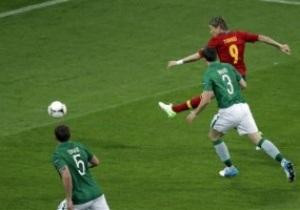 Испания - Ирландия - 4:0. Live