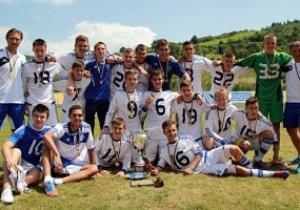 Юношеское Динамо обыграло Шахтер и стало чемпионом Украины