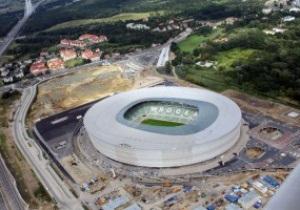 Стадион к Евро-2012 во Вроцлаве не прошел проверку безопасности