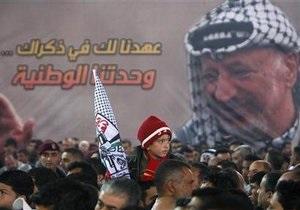 ЗМІ: На одязі Ясіра Арафата виявлені сліди полонію