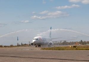 В аэропорту Харькова открыли новую взлетно-посадочную полосу