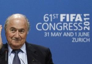 Блаттер не будет наказывать Англию за попытку отсрочить выборы президента FIFA
