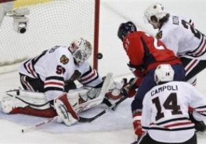 NHL: Вашингтон добывает восьмую победу подряд