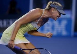 Australian Open. Мария Шарапова вынесла с корта Венус Уильямс