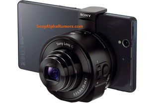 Sony -  об єктив для смартфонів
