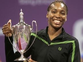 Доха: Венус Вільямс виграла турнір