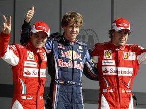 Гран-при Бахрейна: Феттель стартует с поула