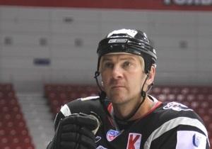 Київський Сокіл підписав контракт з екс-зіркою NHL
