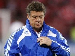Рехагель обновил состав сборной Греции перед встречей с украинцами
