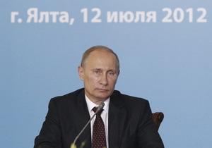 Путін запізнився на зустріч з Януковичем на чотири години