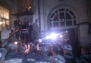 Марков - Одесса - митинг - милиция - ответственность - Активных участников митинга в поддержку Маркова в Одессе привлекут к ответственности