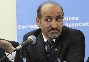 Сирийская оппозиция выступила против участия Ирана в Женеве-2