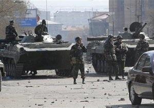 Армения-Азербайджан - Армения заявляет о гибели военного в результате обстрела со стороны Азербайджана