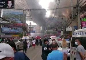 В Таиланде горит один из самых популярных курортов