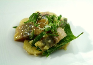 Рыба рецепт - блюда из рыбы - блюда из картофеля - салат - рыбный день -  Рецепт копченой сельди в салате из горчицы и картофеля от повара Свена Эрика Ренаа