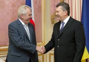 Президент Чехии пошутил, отвечая на вопрос о возможном помиловании Тимошенко