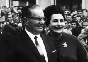 маршал Тито - В Белграде скончалась вдова маршала Тито