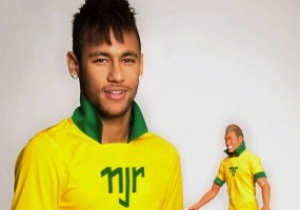 У звезды сборной Бразилии появилась собственная кукла