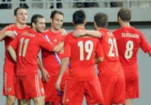 Россия выходит на чемпионат мира 2014 года