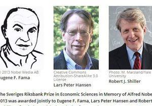 Прогноз биржевых котировок. За что вручили Нобеля-2013 по экономике - нобелевская премия по экономике