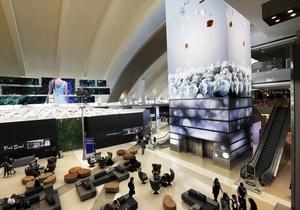 Взрыв бутылки с сухим льдом в аэропорту Лос-Анджелеса задержал несколько рейсов
