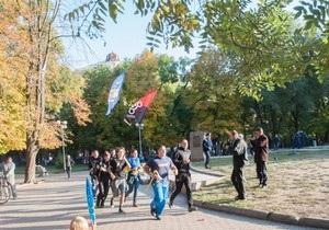 новости Одессы - В Одессе состоялся пробег в честь 71-й годовщины УПА