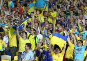 Фанаты на матче Украина-Польша вели себя спокойно – милиция