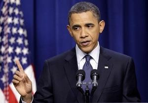 Убрать пистолет со стола. Обаме не удалось договориться с республиканцами по бюджету