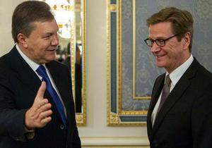 Тимошенко - Глава МИД ФРГ: Освобождение Тимошенко задерживается