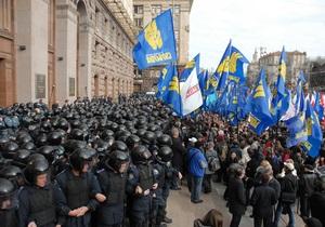 Свобода - новости Киева - Киевсовет - допрос - Свобода: Двух оппозиционеров вызвали на допрос по поводу митинга возле Киевсовета