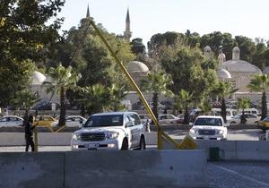 Инспекторы ОЗХО и ООН побывали на трех объектах в рамках миссии в Сирии