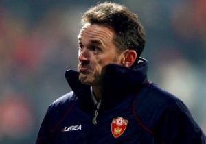 Тренер сборной Черногории уверен, что Украина не обыграет Польшу
