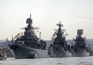 НГ: Чорноморський флот відповість за тиск Москви на Київ