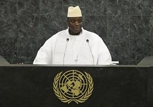 Гамбия обвинила Британию и США в попытках организации переворота в стране