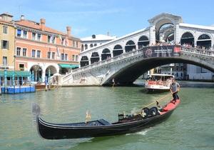 В Венеции на гондолах установят GPS