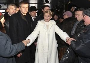 VOA: Тимошенко готовится к отъезду за рубеж