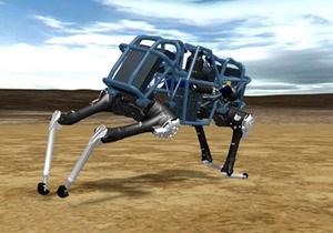 Машины для войны: робот-кот прибавил газу - видео