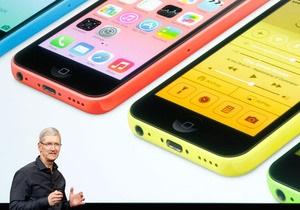 В США цены на  бюджетный  цветастый iPhone рухнули вдвое - новый айфон - iphone 5c