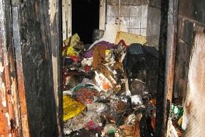 новости Киева - пожар - В Киеве в результате пожара в квартире погибли две женщины