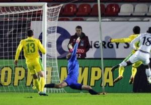 Группа болельщиков оскорбляла Анжи и Дагестан на матче еврокубка