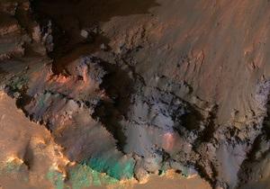 Новости науки - космос - Марс: Марсианские кратеры оказались супервулканами