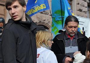 Потасовки у Киевсовета: пострадали два охранника. Помощник Бригинца получил сотрясение мозга