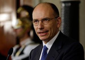 Италия - Правительство Италии ждет голосования по вотуму доверия
