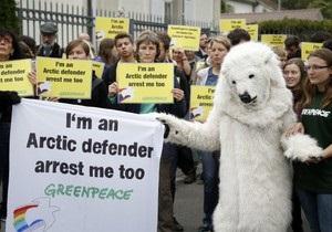 Greenpeace - Следственный комитет России обвинил двух активистов Greenpeace в пиратстве