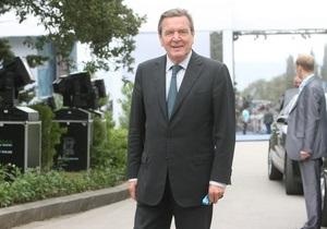 Герхард Шредер – Интервью - Корреспондент