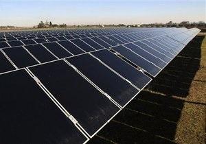 Солнечная энергия - Украине прогнозируют место в топ-5 крупнейших новых рынков фотовольтаики
